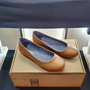 DR. SCHOLLS Womens Friendly2 Ballet Flat Size 7.5